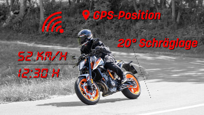 Überwachungsstaat? Übermittlung von Geschwindigkeit, Beschleunigung und Position an Behörden
