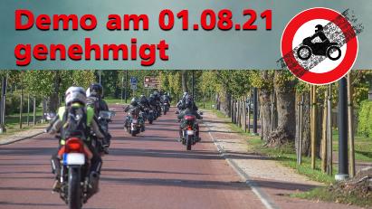 Motorrad-Demo im Sauerland genehmigt