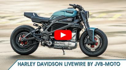 JvB-moto hat die Harley-Davidson LiveWire customized