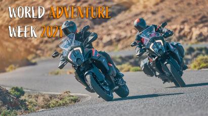 KTM World Adventure Week: Motorradtour fahren und Preise kassieren