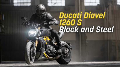 Black and Steel: Ducati Diavel 1260 S