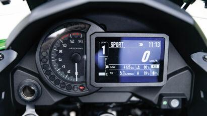 Kawasaki Versys 1000 SE GT Instrumente
