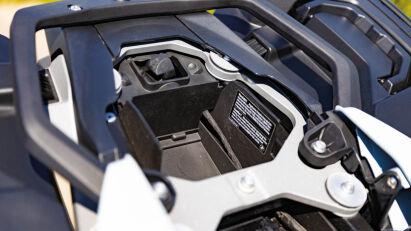 BMW S 1000 XR Staufach