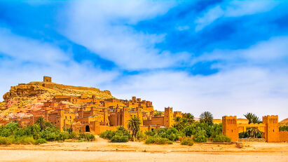 Marokko Motorrad Reise Aït-Ben-Haddou