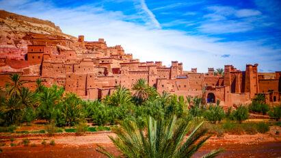 Marokko Motorrad Reise Ouzazate