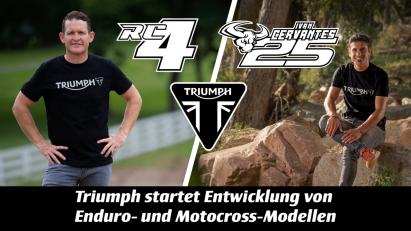 Triumph Einstieg Motocross- und Enduro-Rennsport