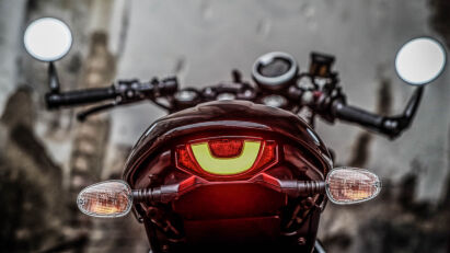 Ducati Scrambler Café Racer Heck