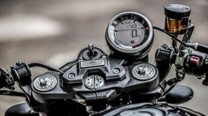 Ducati Scrambler Café Racer Tacho