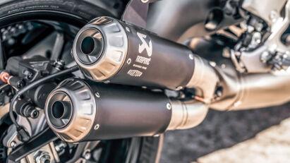 Yamaha XSR900 Abarth Auspuff