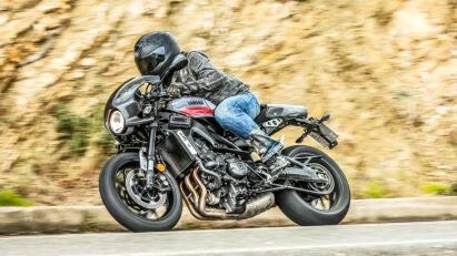 Yamaha XSR900 Abarth Fahrbild