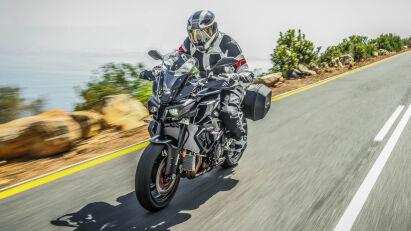 Yamaha MT-10 Tourer Edition Fahrbild