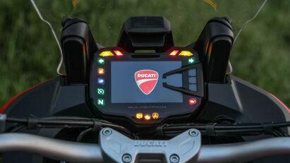 Ducati Multistrada 1200 S Display