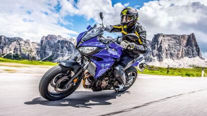 Yamaha Tracer 700 Fahrbild