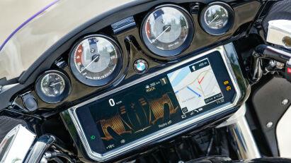 Ansichtssache: Die Navigationskarte kann großflächig (siehe Bild 5) oder etwas kleiner im Splitscreen-Modus angezeigt werden.