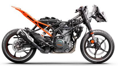 KTM RC Modelle Rahmen und Motor