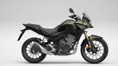Honda CB500X in Pearl Organic Green