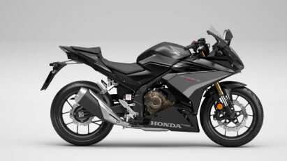 Honda CBR500R in Mat Gunpowder Black Metallic