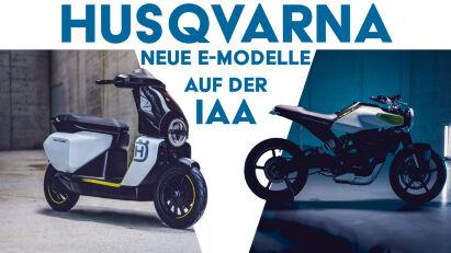 Husqvarna Motorcycles stellt das E-Mobility Line-Up auf der IAA Mobility aus