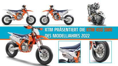 KTM 450 SMR: Fahrwerksupgrade und neue Dekore für die Saison 2022