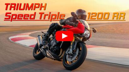 Triumph Speed Triple 1200 RR: elegante Britin mit semiaktivem Fahrwerk