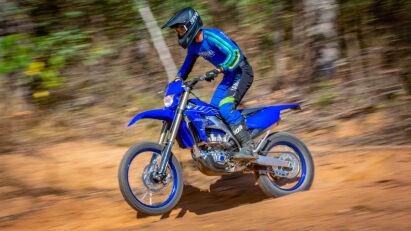 Umfangreich überarbeitet: Yamaha WR250F