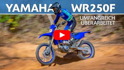 Yamaha WR250F für 2022 umfangreich überarbeitet