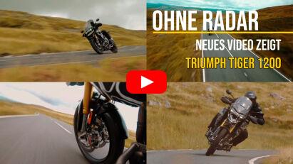 Tiger 1200: Triumph veröffentlicht neues Teaser-Video