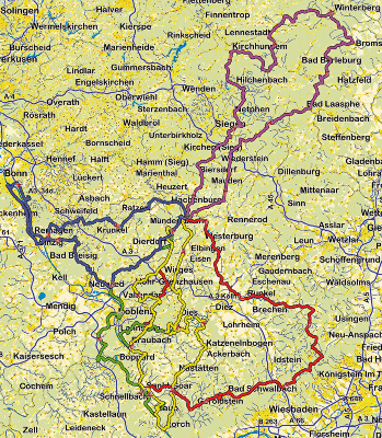 Westerwald Karte.Motorradtour Oh Du Schoner Westerwald