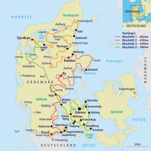 margeritenroute dänemark karte Motorradtour   Dänemarks längste Touristenattraktion   Margeritenroute