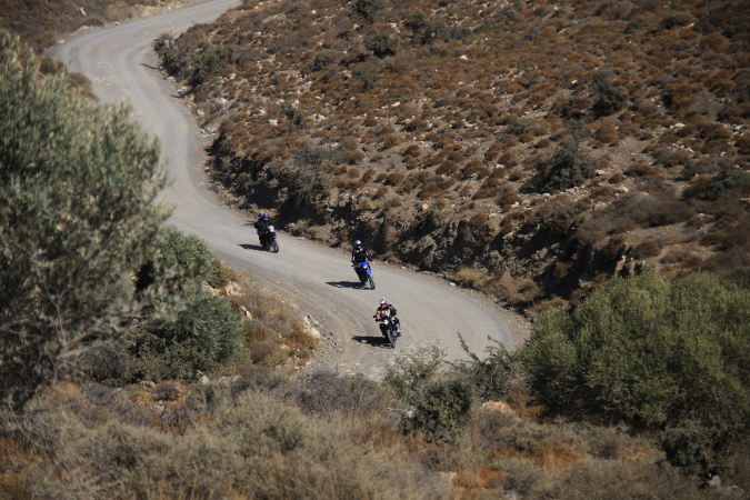 Kreta All In Moto-Week - mit Tourguide