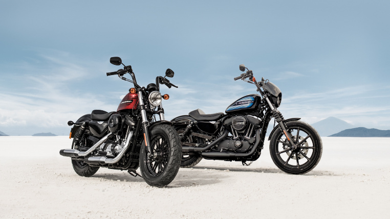 Harley_Davidson Iron 1200 &  Forty Eight Special