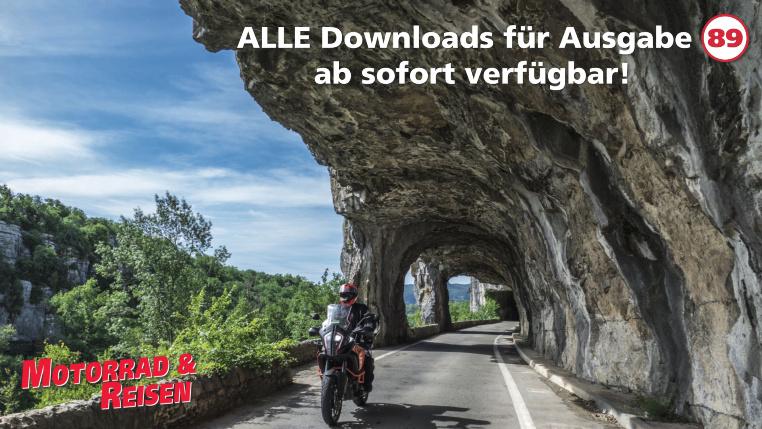 Downloads Motorrad & Reisen Ausgabe 89