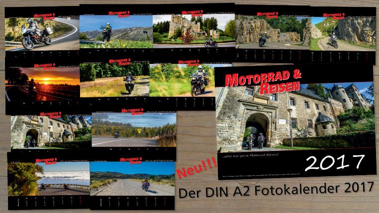 Überblick der A2 Kalendermotive
