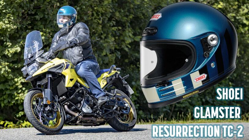 Motorradhelm Test Shoei Glamster Resurrection-TC2