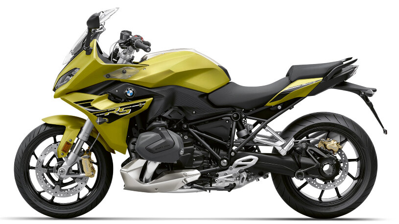 BMW R 1250 RS Style Sport in Austin Yellow metallic Modell 2021