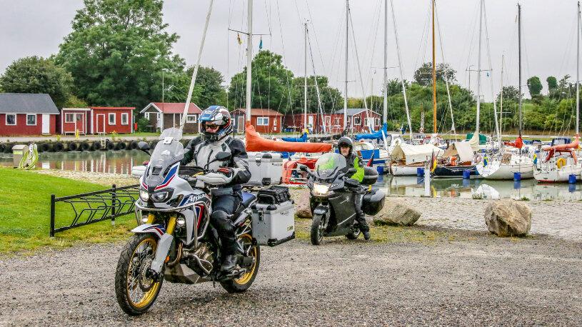 Motorradtour von Malmö nach Karlskrona