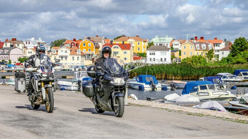 Motorradtour von Karlskrona nach Älmhult