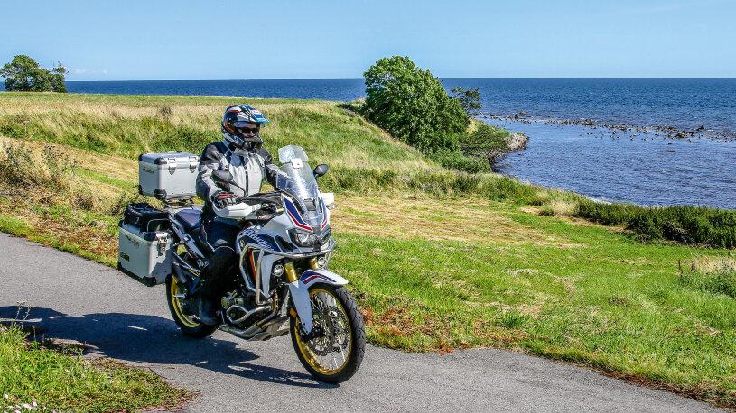 Motorradtour: Nordlichtrunde durch Süd-Schweden