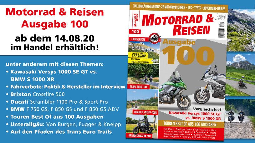 Motorrad & Reisen Ausgabe 100 Vorschau