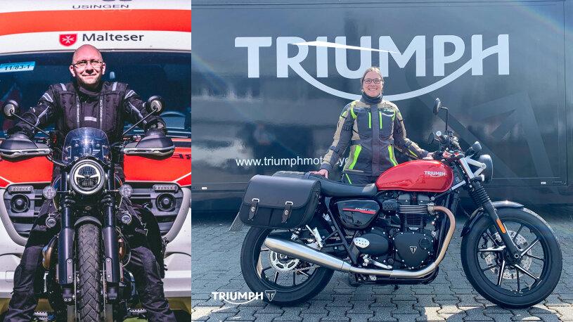 Triumph Unterstützungs-Aktion für medizinisches Personal
