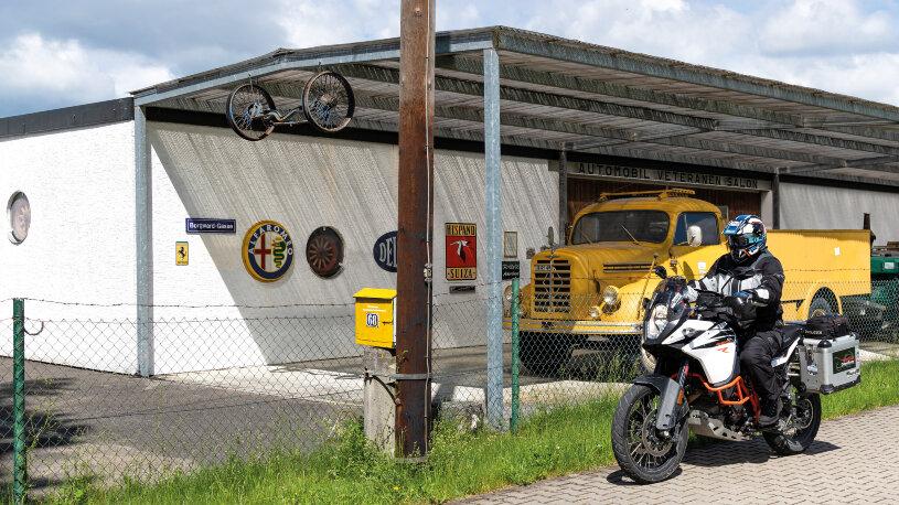 Besondere Schätze im Automobil-Veteranen-Salon in Gundelfingen