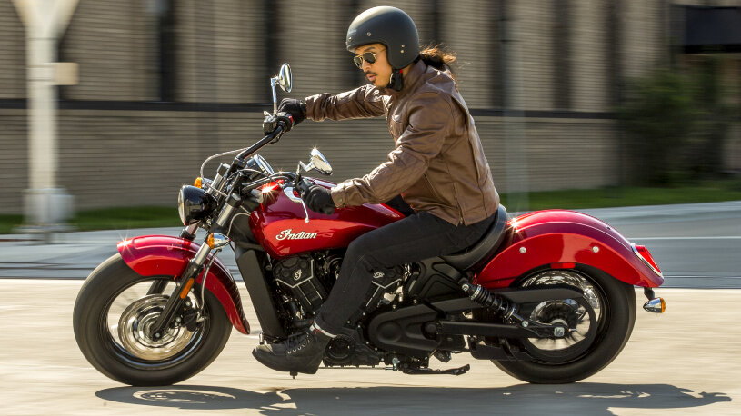 Indian Scout Sixty in Ruby Metallic