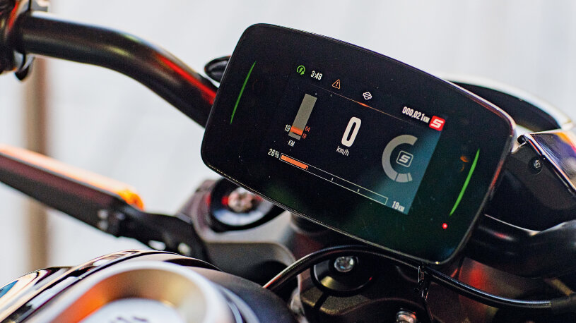 Harley-Davidson LiveWire Touchscreen