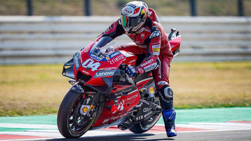 Andrea Dovizioso auf seiner MotoGP-Ducati