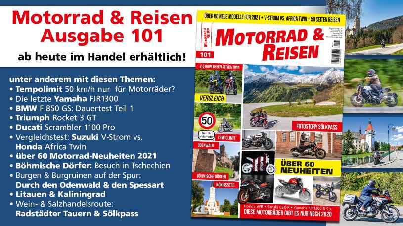 Motorrad & Reisen Ausgabe 101 Vorschau