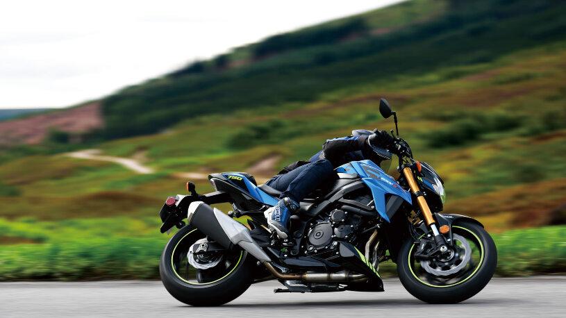Neue Farben für Suzuki GSX-S750