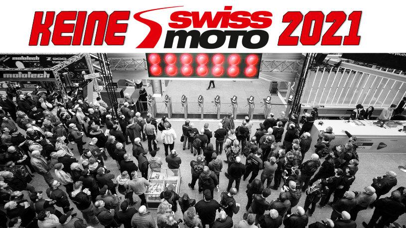 Die Messe Swiss-Moto im Februar 2021 findet nicht statt.