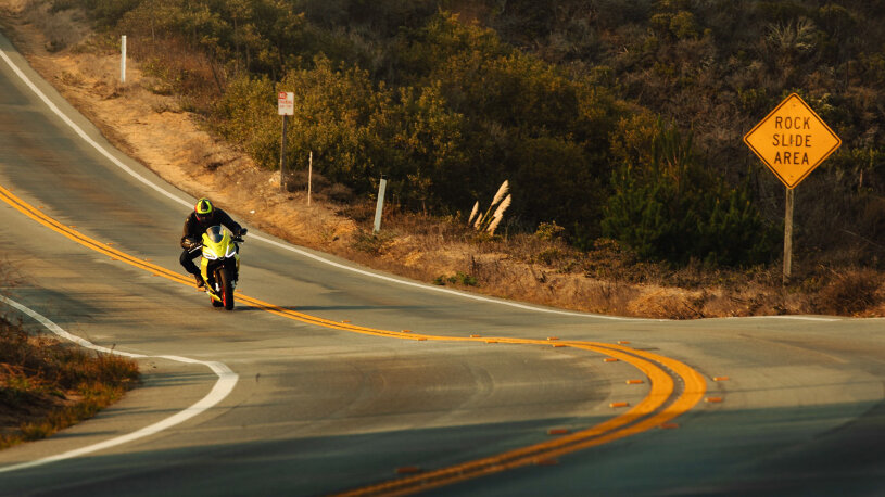 Aprilia RS 660 in Kalifornien