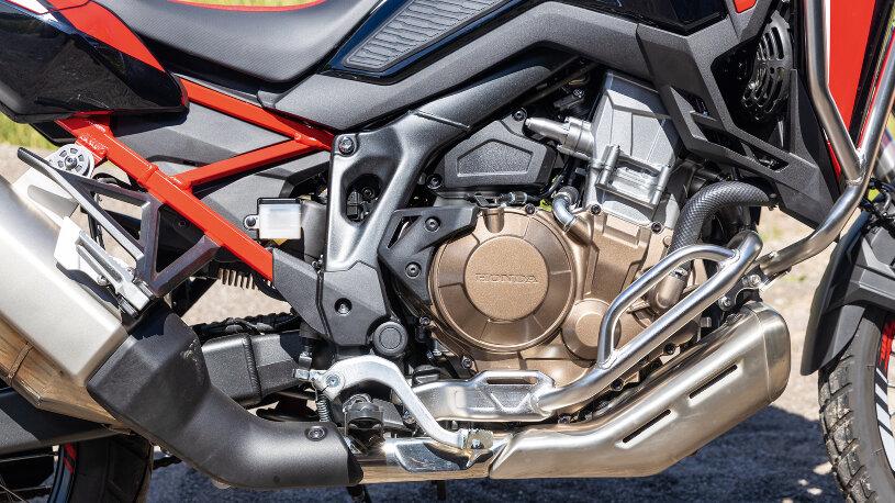 Motor der Honda CRF1100L Africa Twin