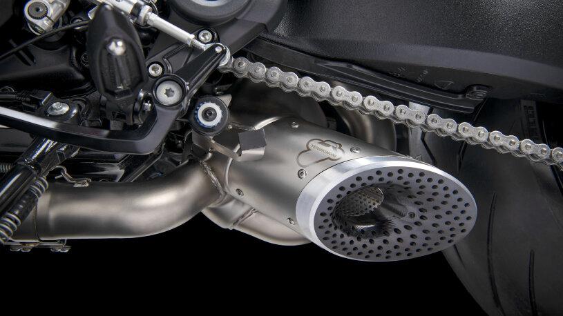 Ducati Diavel 1260: Performance-Zubehör, Auspuffanlage